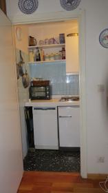 <b></b> Vista cucina dal soggiorno