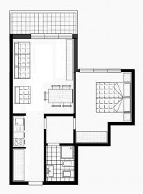 <b>piantina appartamento in affitto Madonna di Campiglio</b>