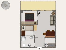 <b>pianta appartamento</b>