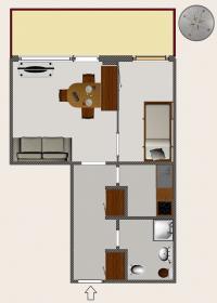 <b>pianta appartamento in vendita</b>
