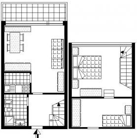 <b>SV214 piantina</b> SV214 piantina appartamento in affitto