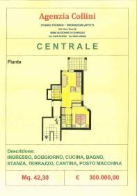 <b>piantina appartamento in vendita</b> bilocale in vendita a madonna di campiglio